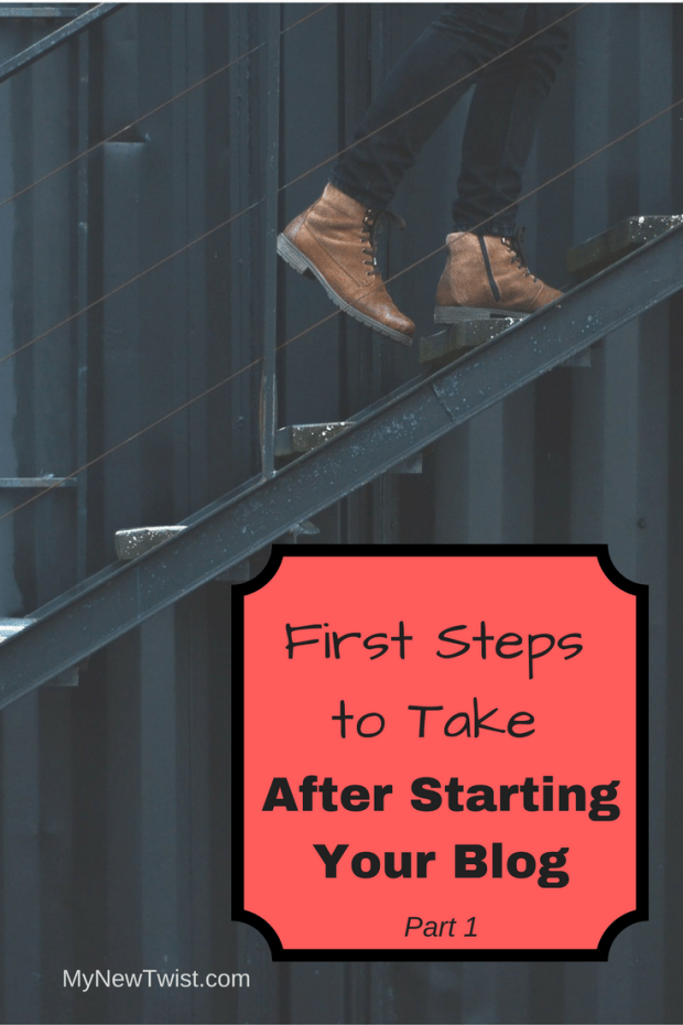 First steps to take after starting your blog