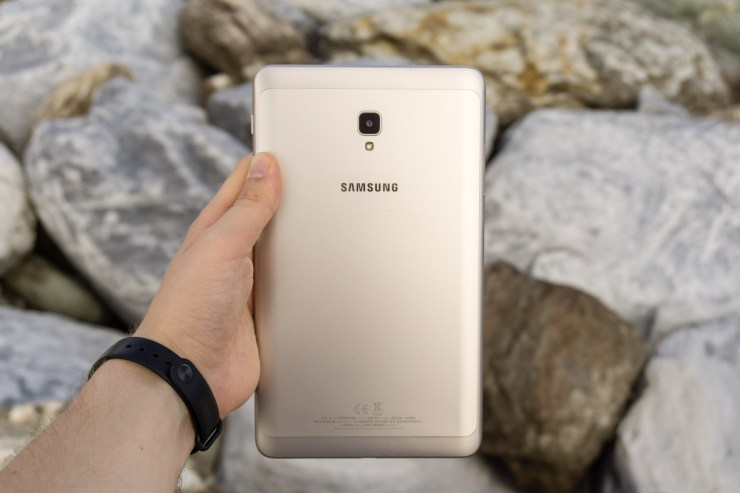 Samsung Galaxy Tab A 8.0 2017 with metal back
