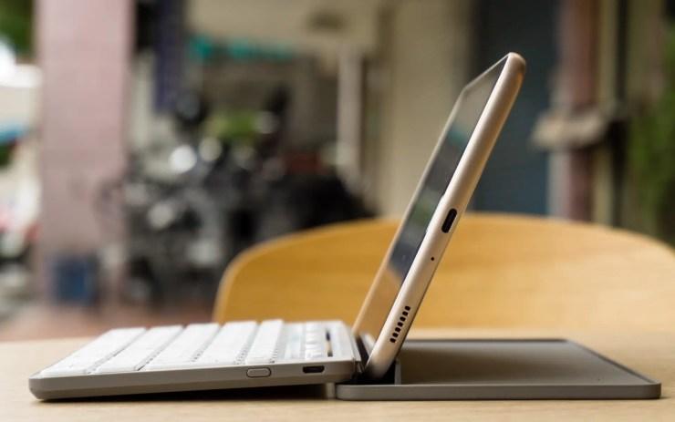 Samsung Galaxy Tab A 8.0 2017 with keyboard