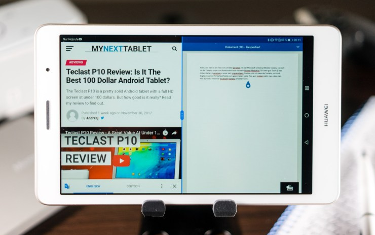 Huawei MediaPad T3 8 Review: A Solid Entry-Level Tablet With LTE