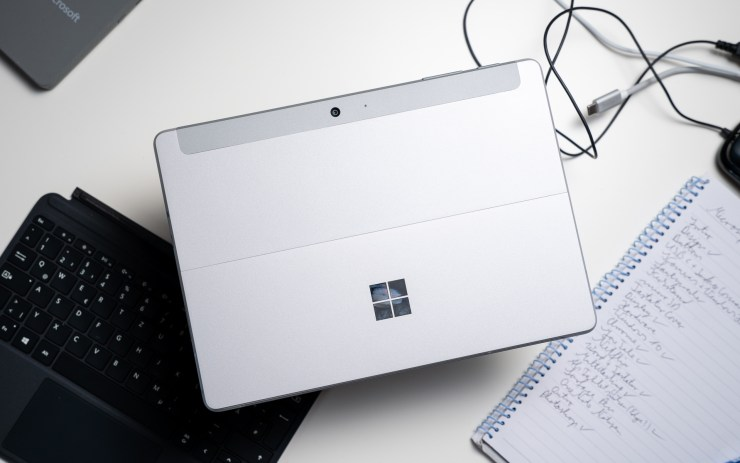 Microsoft Surface Go build quality