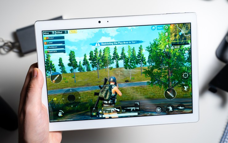 Teclast T20 with PUBG Mobile