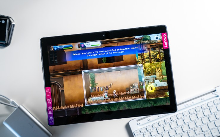 Lenovo Tab M10 gaming test
