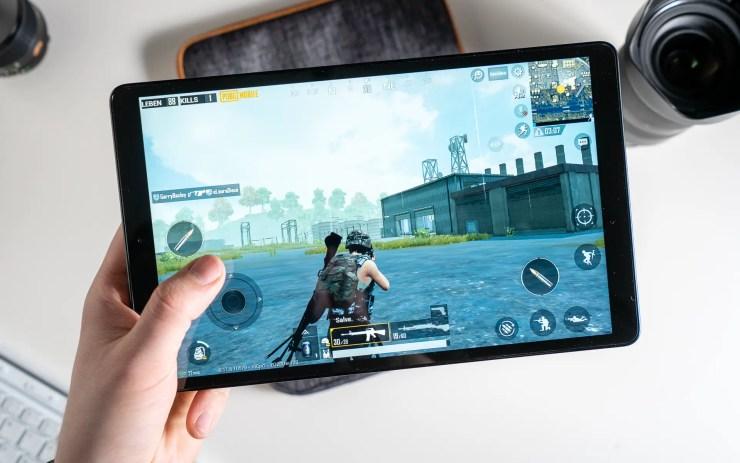 Samsung Galaxy Tab A 10.1 2019 with PUBG Mobile