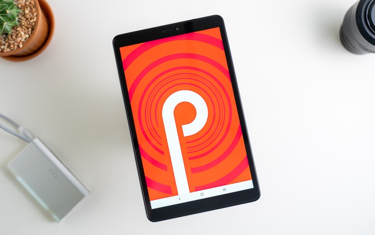 Samsung Galaxy Tab A 8.0 with Android 9 Pie