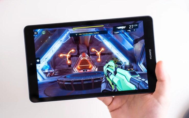 Huawei MediaPad M5 Lite 8 gaming test
