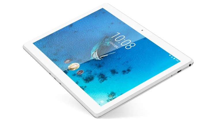 Lenovo Tab M10 HD in polar white