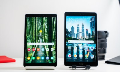 Samsung Galaxy Tab A 8 with S Pen vs Huawei MediaPad M5 Lite 8