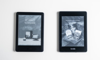 Amazon Kindle vs Paperwhite comparison