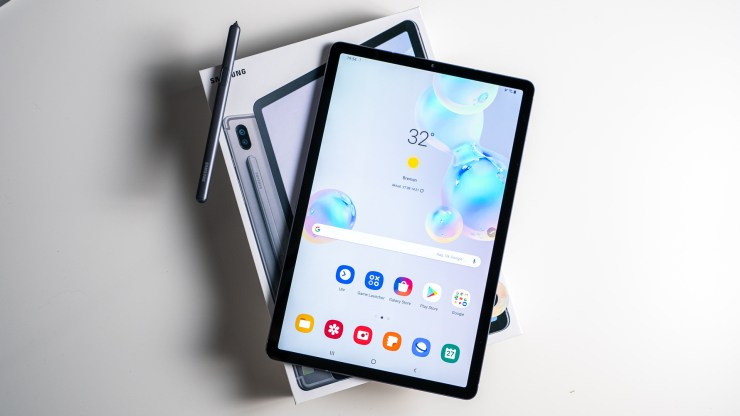 Samsung Galaxy Tab S6 Unboxing