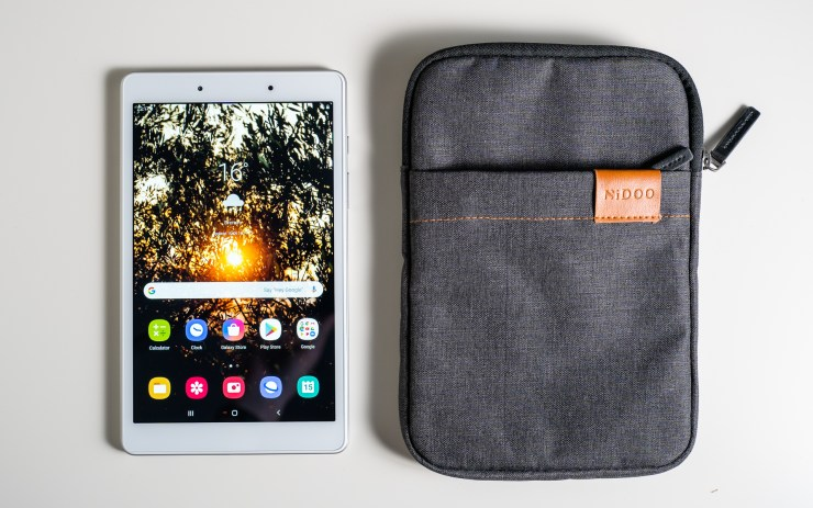 Galaxy Tab A 8.0 with Nidoo sleeve