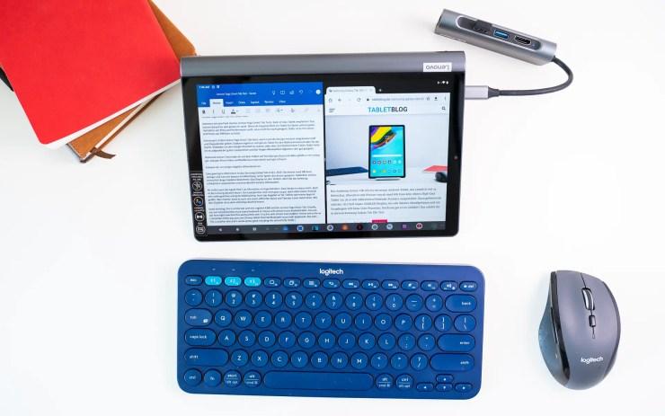 Lenovo Yoga Smart Tab with productivity mode