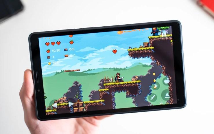 Lenovo Tab M7 gaming