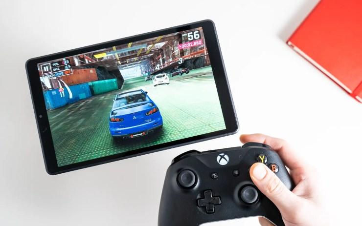 Lenovo Tab M8 HD gaming test