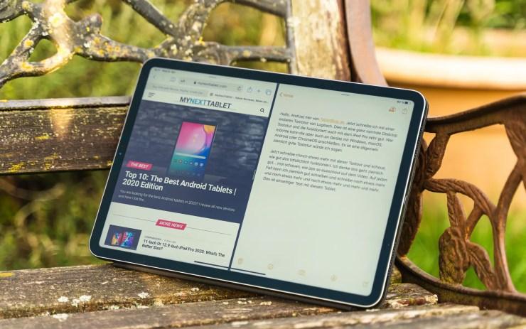 iPad Pro 2020 multitasking