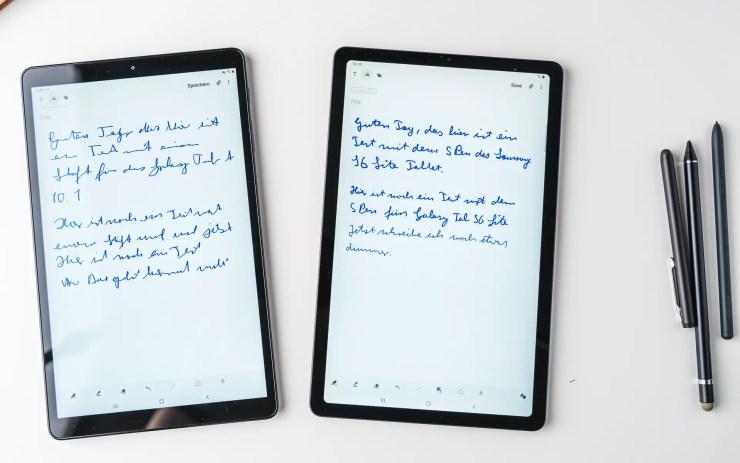 Samsung Galaxy Tab S6 Lite VS Tab A 10 S Pen