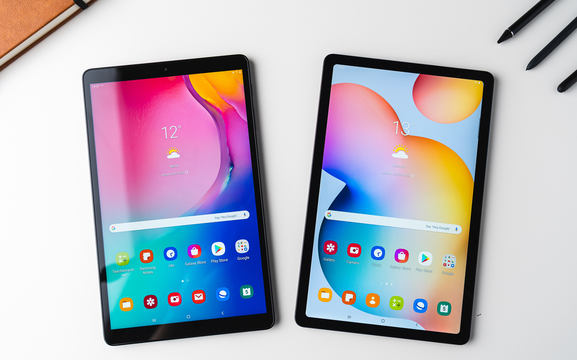 Samsung Galaxy Tab S6 Lite Vs Galaxy Tab A 10 1 Comparison