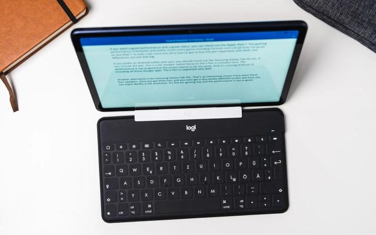 Huawei MatePad 10.4 with keyboard