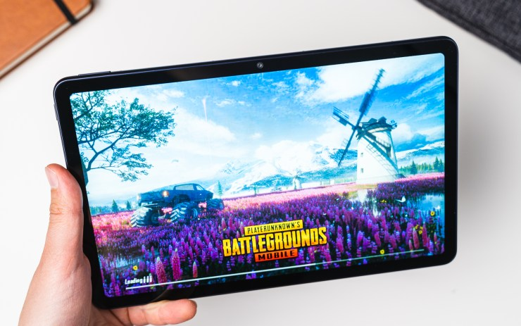 Huawei MatePad 10.4 with PUBG Mobile