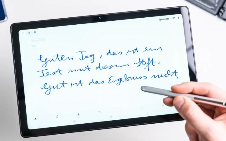 Samsung Galaxy Tab A7 stylus