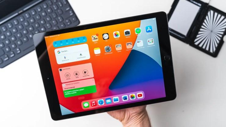 Apple iPad 8 test