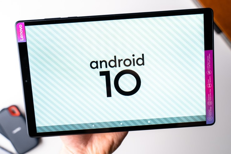 Lenovo Tab M10 HD 2nd Gen with Android 10