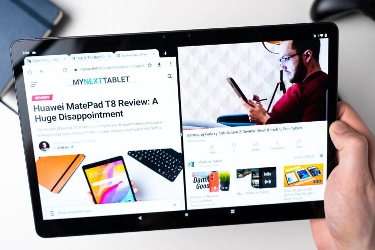 Lenovo Tab P11 Pro multitasking