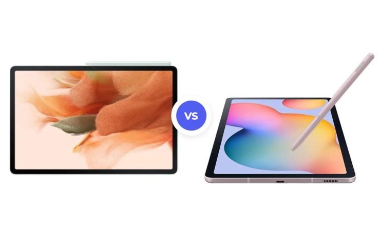 Samsung Galaxy Tab S7 FE vs S6 Lite