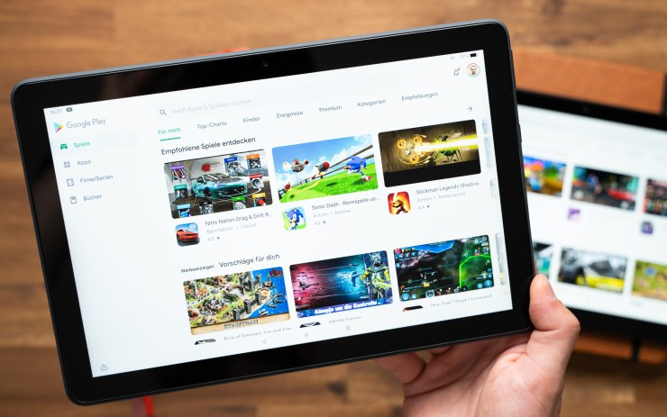 Amazon Fire HD 10 Plus with Google Play Store