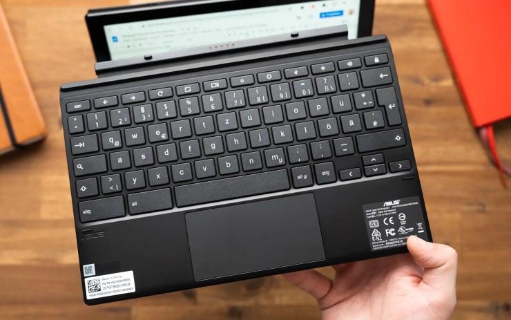 ASUS Chromebook CM3 keyboard