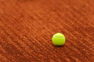 Tennis on clay court