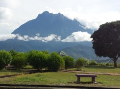 View of Mt. Kinabalu