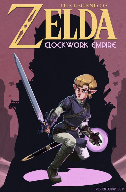 zelda clockwork