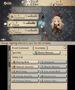 You can choose up to 30 diferent jobs in Bravely Second.