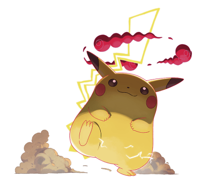 Gigantamax Pikachu Marketing Art