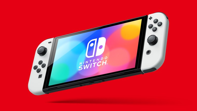 Hands-on preview: Nintendo Switch model (OLED)