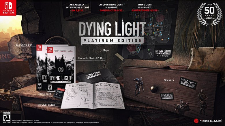 dying light platinum edition Dying Light Platinum Edition now confirmed for Nintendo Switch