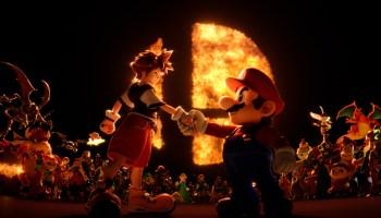 sora mario Super Smash Bros ultimate