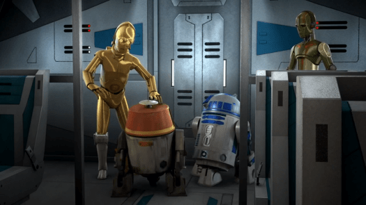 Meeting of the Droids