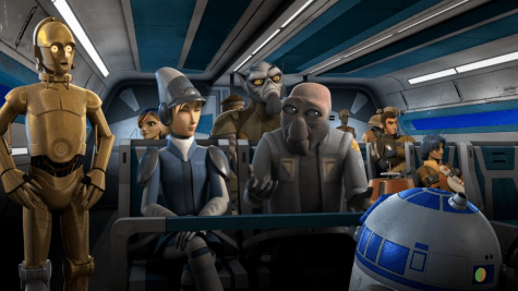 Star Wars Rebels Droids in Distress The Set Up