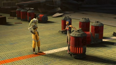 Star Wars Rebels Out of Darkness