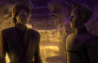 Tarkin and Anakin