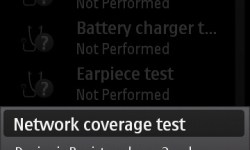 Network Coverage Test