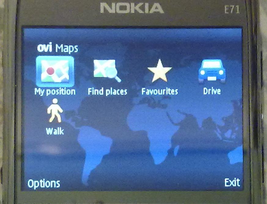 09. Ovi Maps 3.03 on E71