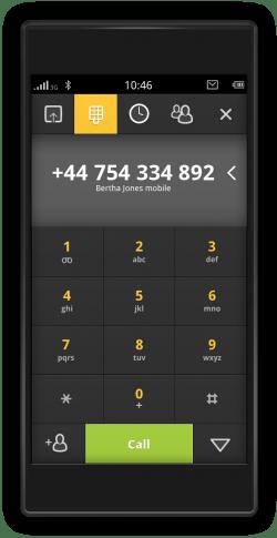 meego-handset-dialer