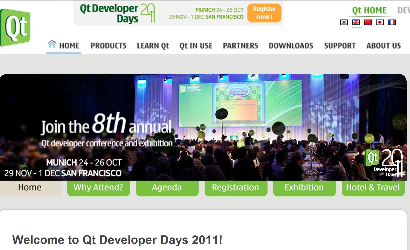 Qt Developer Day begins! (24th – 26th October) : My Nokia