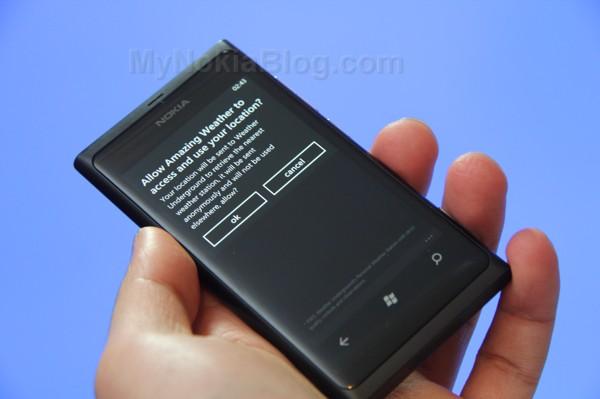 Amazing Weather Nokia Lumia 800(8)