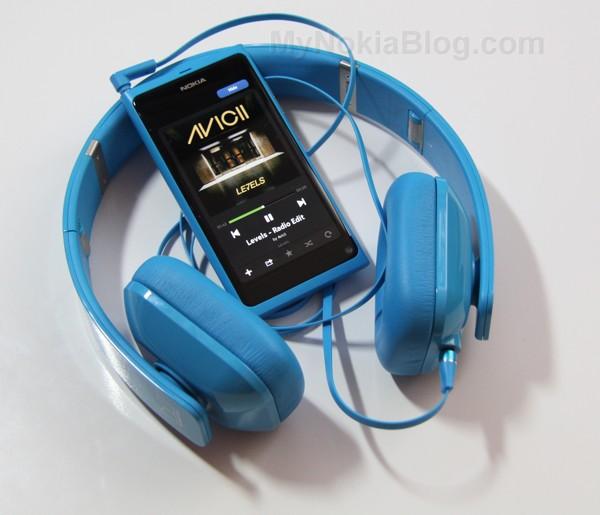 Nokia Purity HD Monster Cyan(44)