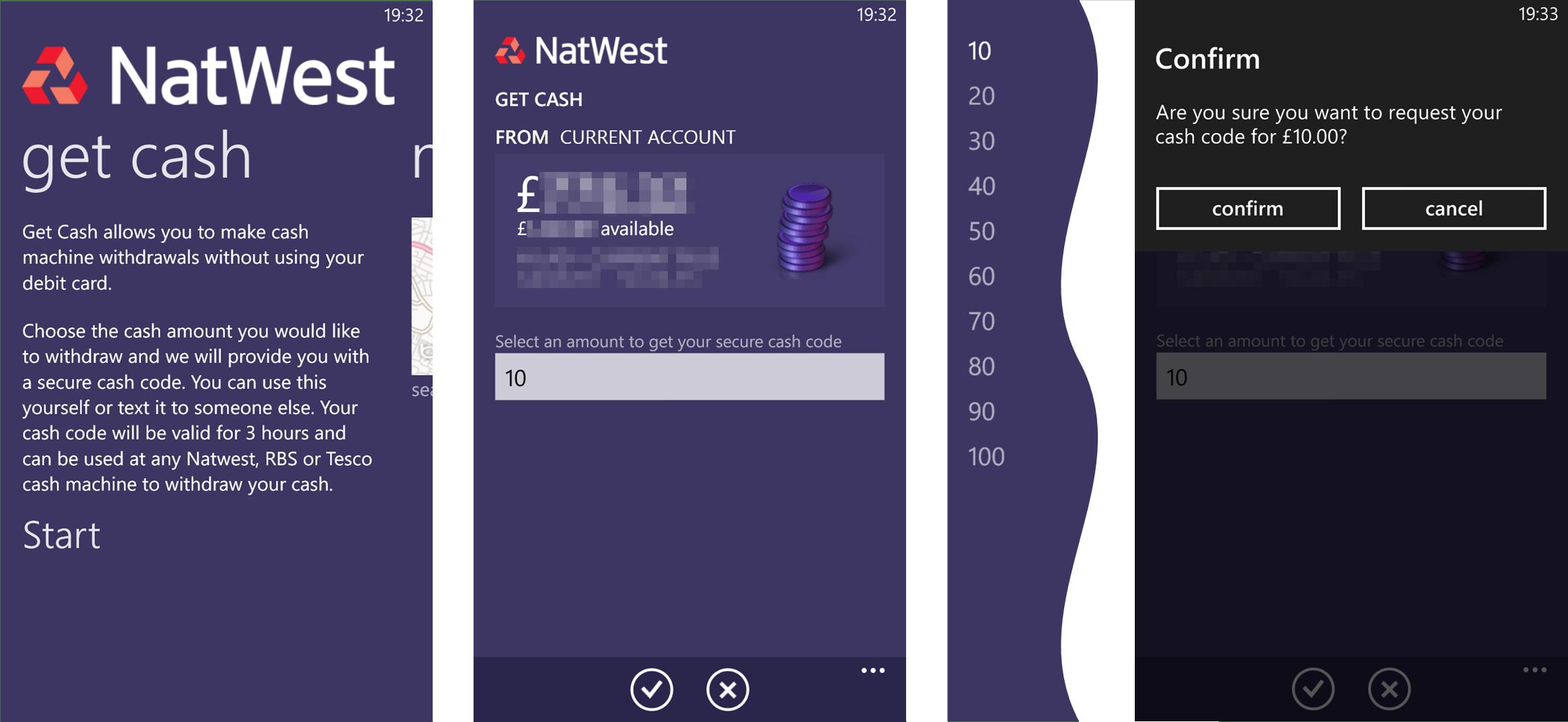 NatWest App (5) Get Cash
