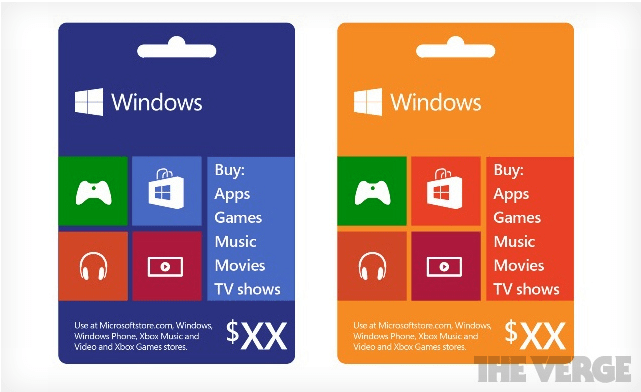 Windows Phone Gift Card